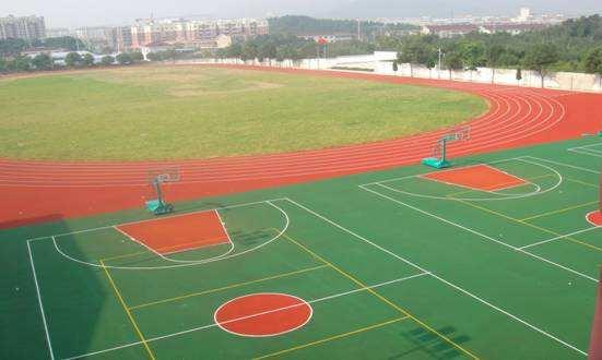 学校地坪,学校地面,学校操场,校园运动场施工